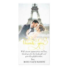 #elegant gold script wedding thank you card - #GroomGifts #Groom #Gifts Groom Gifts #Wedding #Groomideas Bridal Gifts, Wedding Gifts, Wedding Ideas, Elegant Wedding, Gold Wedding, Wedding Thank You Cards, Love Cards, Thank You Gifts, Appreciation