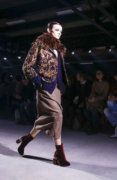 Dries van Noten Fall Winter 2016 Ready-to-Wear #Booties | Lovika
