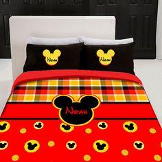 Custom Disney bedding
