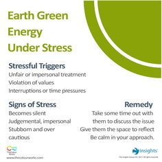 What Is Green Energy? Learn About It Here! True Colors Personality Test, Personality Types, Insights Discovery, What Is Green, Discovery Green, Signs Of Stress, Work Goals, Leadership Coaching, Color Psychology