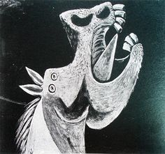 Pin by Paula Mont on Picasso y Picasso Guernica, Pablo Picasso, Spanish Painters, Carousel Horses, Cubism, Les Oeuvres, Printmaking, Fine Art Prints, Artsy
