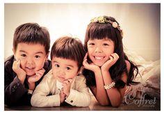 先日のお客様 * りんちゃん やまとくん いっさくん *|Coffret photography staff blog