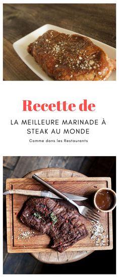 #marinade #steak Marinade Steak, Restaurants, Sauces, Beef, Food, Preserves, Meat, Recipe, Meal