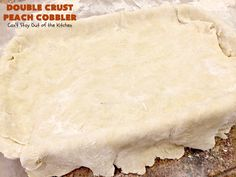 Double Crust Peach Cobbler is the BEST peach cobbler recipe you'll ever eat. Peach Cobbler Pie Crust, Good Peach Cobbler Recipe, How To Make Cobbler, How To Make Pie, Homemade Chicken And Dumplings, Peach Cake, Canned Peaches, Savoury Cake, Sweet Desserts