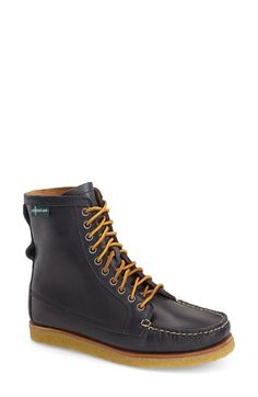 Eastland 'Mackenzie 1955' Crepe Sole Lace-Up Moc Boot (Women) available at #Nordstrom