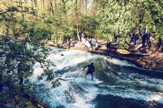 CANON Come-and-See City Surfer - Munich Eisbach - Tao, Karina, A