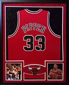 Scottie Pippen Framed Jersey Signed PSA/DNA COA Autographed Chicago Bulls Mister Mancave http://www.amazon.com/dp/B0133AP3BO/ref=cm_sw_r_pi_dp_OP7qwb1PHBD49