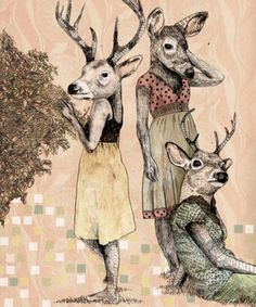 Artwork by Gabriella Barouch...example of illustration