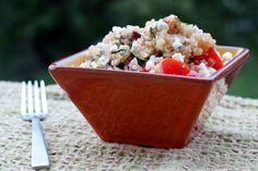 Daily Garnish » Blog Archive » Mediterranean Quinoa Salad.