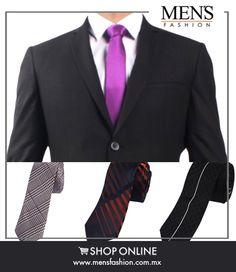 Un nudo bien hecho habla de tu formalidad y estilo al portar un traje, no descuides este detalle. ¡Viste #Fashion! Cómpra #corbatas aqui: www.mensfashion.com.mx
