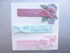 Our Crochet range has proven very popular, giving your cakes that 'i can't believe it's icing' effect. Here we have our Crochet Border, Crochet Flower and Leaf Border, Crochet Bow and Crochet Hearts Mould. http://www.karendaviescakes.co.uk/search/?qry=crochet