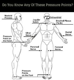 Do You Know Any of These Pressure Points| Self Defense Tips- The best self defense moves are smart and don't need brute force for them to be effective.   Here if you know a few pressure points you can down an opponent that is twice as big as you are.
