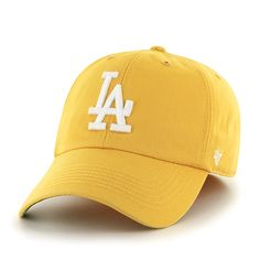 Los Angeles Dodgers Franchise Yellow Gold 47 Brand Hat