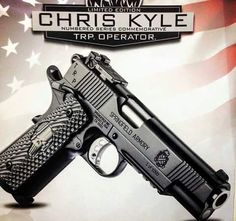 Springfield Armory announces the Chris Kyle Limited Edition TRP 1911 Save those thumbs & bucks w/ free shipping on this magloader I purchased mine http://www.amazon.com/shops/raeind  No more leaving the last round out because it is too hard to get in. And you will load them faster and easier, to maximize your shooting enjoyment.