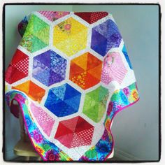 I love this quilt - this one was made for Kennedy in 2013...
