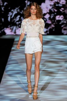 Badgley Mischka Spring 2011 Ready-to-Wear Fashion Show - Bo Don