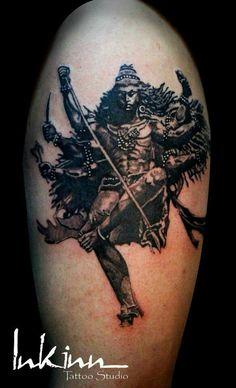 Shiva tattoo more to go                                                                                                                                                     More