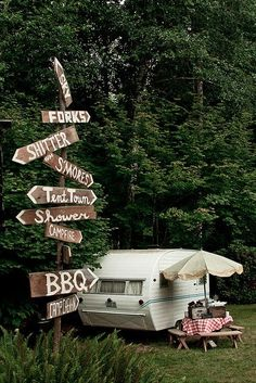 New vintage camping signs glamping 23 Ideas Campground Wedding, Camp Wedding, Wedding Ideas, Dream Wedding, Wedding Bells, Wedding Stuff, Camping Signs, Camping Life, Beach Camping