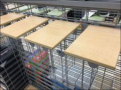 Tommy Hilfiger® Slatwire Shoe Ledges in Wood – Fixtures Close Up Diving Board, Slat Wall, Trays, Grid, Hooks, Tommy Hilfiger, Retail, Home Appliances, Shoe