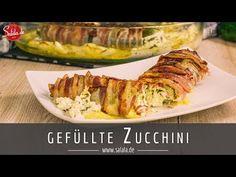 Gefüllte Zucchini mit Feta-Käse | low carb - salala.de - Low Carb mit Vroni & Nico