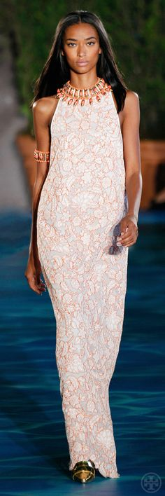 Tory Burch Spring Look 36 Vitelli Vitelli I'm def gonna need this one Couture Mode, Couture Fashion, Runway Fashion, Fashion Week 2015, Spring Fashion, Fashion Trends, Tory Burch, Love Fashion, High Fashion