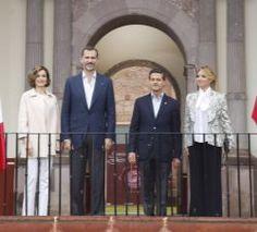 7/1/2015 King Felipe and Letizia in Mexico