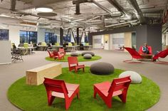 The Skype Palo Alto Offices are a Modern Work Haven #office #workplace trendhunter.com