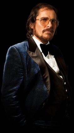 Christian Bale in David.O.Russell's film; American Hustle