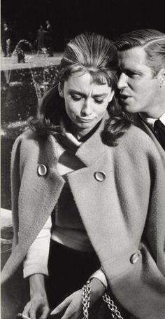 Audrey Hepburn & George Peppard in 'Breakfast At Tiffany's'
