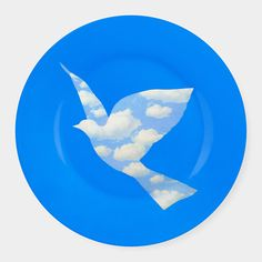 Magritte: Dove Plate | MoMAstore.org