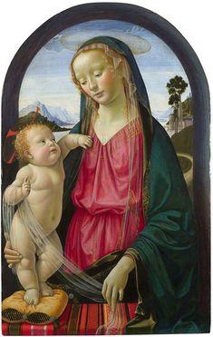 Domenico Ghirlandaio - The Virgin and Child, ca. 1480/90