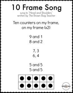 136 Best 10 Frame Images Teaching Math Fun Math Kids Math