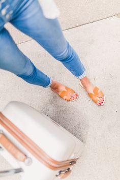 Grecian Slides - The Golden Girl Blog