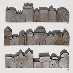 ceramic houses tile