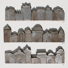 ceramic houses tile