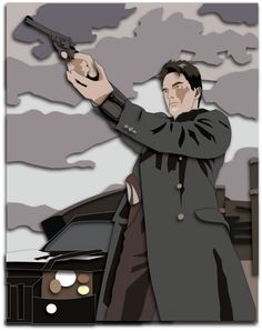 Shadowbox Mock-up: Captain Jack Harkness by The-Paper-Pony on DeviantArt