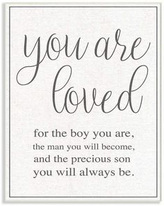 Stupell Industries You Are Loved Wall Plaque Art, 10