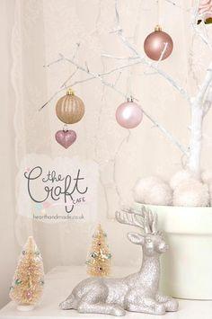 Craft Cafe DIY Branch Christmas Tree