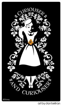 Alice in Wonderland by Lewis Carroll  One of my faaavorite Disney's Alice images of all time.