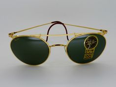Vintage B&L Ray Ban W1761 Deco Metals New with Box/Case 52[]20 XLT Lenses NOS by VSOx on Etsy