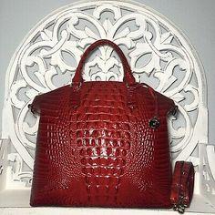 Brahmin Large Duxbury Satchel Scarlet Red Melbourne Leather  | eBay Brahmin Handbags, Winter Haven, Scarlet, Leather Backpack, Melbourne, Satchel, Red, Ebay, Brahmin Bags