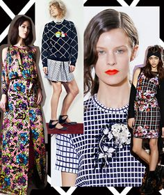Pattern Report | Floral Grid