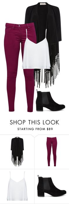 """""""Fringe Sweater"""" by aowens99 on Polyvore featuring Soaked in Luxury, Great Plains and Alice + Olivia"""