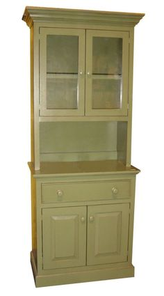 Small China Hutch China Hutch This would go great in my little kitchen. I would need a darker color though.