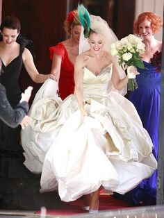 Sarah Jessica Parker Wedding Gown