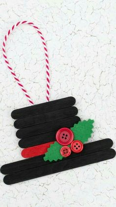 christmas crafts & christmas crafts & christmas crafts for kids to make & christmas crafts for kids & christmas crafts for toddlers & christmas crafts diy & christmas crafts for gifts & christmas crafts for adults & christmas crafts for kids to make easy Easy Christmas Ornaments, Christmas Art, Handmade Christmas, Snowman Ornaments, Christmas Decorations Diy For Kids, Popsicle Stick Christmas Crafts, Ornaments Ideas, Christmas Crafts For Kids To Make, Childrens Christmas Crafts