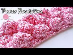 Punto Nocciolina - Bubble Stitch ⚫ Katy Handmade - YouTube Crochet Bobble, Stitch Crochet, Manta Crochet, Crochet Stitches, Knitting Videos, Crochet Videos, Stitch Patterns, Knitting Patterns, Crochet Patterns