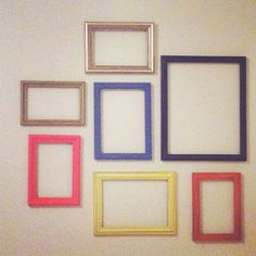 I like the layout Picture Frame Layout, Collage Picture Frames, Wall Collage, Picture Ideas, Gallery Wall Layout, Wall Groupings, Sweet Home, House Ideas, Crafting