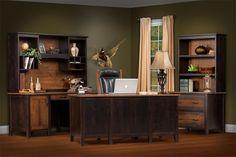 Amish Manhattan Executive Desk