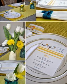 Baby Shower luncheon menu